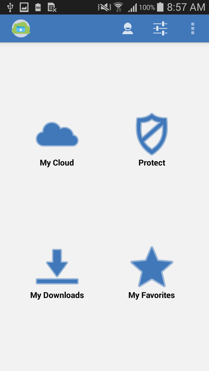 how to set up ds cloud android
